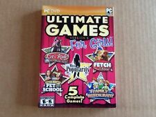 Ultimate Games for Girls PC New Let's Ride Silver Buckle Stables Miss Popularity