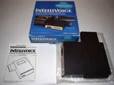 IntelliVoice Voice Synthesis Module Intellivision Console System Complete in Box