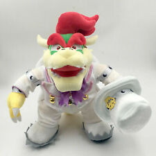 Super Mario Odyssey King Bowser Wedding Costume Plush Toy  Figure Doll  14""