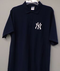 New York Yankees MLB Mens Embroidered Polo Shirt XS-6XL, LT-4XLT New