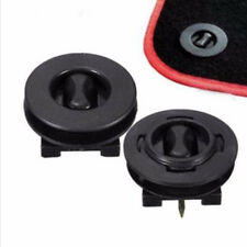 2x Fixing Grip Clamps Floor Holders Car Mat Carpet Clips Anti Slip Knob Pads New