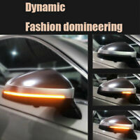 Dynamic Amber 28-LED Car Side Rearview Mirror Turn Signal Indicator Light Strip