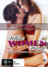 WHAT WOMEN WANT (A GUIDE FOR MEN) - SEX EDUCATION DVD
