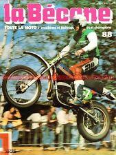 LA BECANE  88 OSSA Super Pionner 250 de Cross MAR PARILLA Renzo PASOLINI 1979