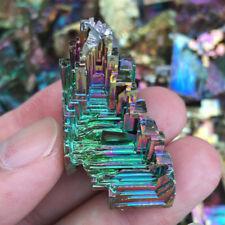 Rare Colorful Titanium Bismuth Specimen Mineral Gemstone Crystal 20G