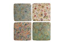 Ceramic Tile Coasters Edwardian Vintage Style Set of 4 French Shabby Chic
