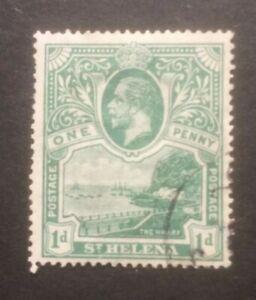 ST HELENA 1922 MSCA SG89 USED CAT £60