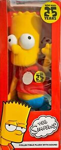 Talking Bart Simpson - The Simpsons 25 Years Collectible Plush Commonwealth 2013