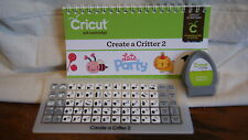 Cricut Cartridge - CREATE A CRITTER 2 - Gently Used -  No Box