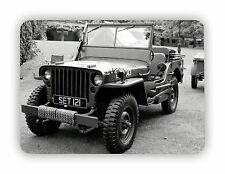 US Army Jeep WW2  Military USA Man Cave METAL SIGN PLAQUE Vintage Retro Poster