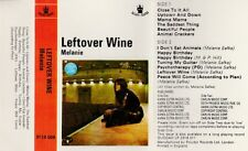 Melanie - Leftover Wine Cassette (1970) Red Paper Labels