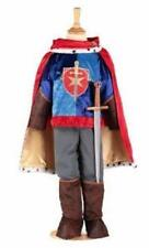 Kids Medieval Prince Tunic Boys Book Day Fancy Dress Costume 9-11 Years Prn9