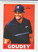 2016 Goodwin Champions GOUDEY Tiger Woods