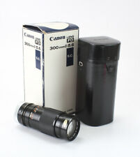 300MM 300/5.6 CANON FD S.C. (HEAVY DUST, DEBRIS), BOXED/197744