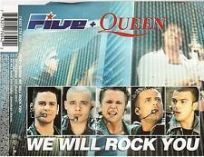 QUEEN + FIVE we will rock you CD MAXI