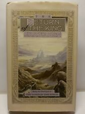 The Lord Of The Rings Return Of The King Hardcover Book & Map 1993 Tolkien