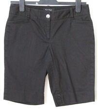 Women's BLACK HOUSE WHITE MARKET Black Slim Bermuda Shorts Sz 4
