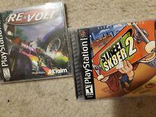 2lot street Sk8er 2 Skater (Sony Playstation 1 ps1) Complete 2000 + Re volt ps1