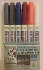 Gunze Sangyo /Gundammarker GMS 112, Real touch marker set.
