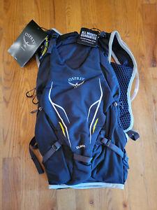 Osprey Duro 15 L Hydration Black Backpack NWT