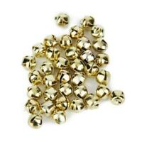 88pcs Metal Jingle Bells for Christmas Decoration Jewellery Making Craft 6mm
