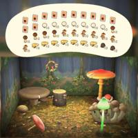 Alle Pilz Bastelanleitungen + 280 Pilze | Animal Crossing New Horizons