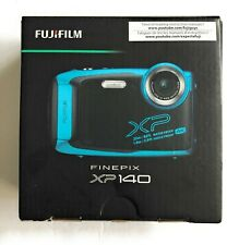 Fujifilm Finepix XP140 16.4MP Point Shoot Camera Sky Blue WATERPROOF BRAND NEW