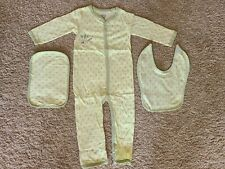 Baby Sleeper 100% Organic Cotton 3 Piece Set New FREE SHIPPING