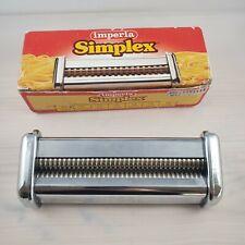 Imperia Simplex Attachment T.S #150-05 Spaghetti Fresh Pasta Made in ITALY