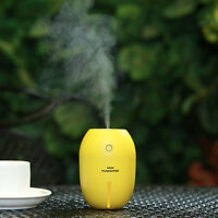 Ultrasonic Mini Lemon Home Aroma LED Humidifier Air Diffuser Purifier