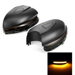 Pair LED Dynamic Side Mirror Turn Signal Light For VW Golf 6 MK6 GTI 6 R20 MKVI