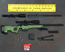 1/6 Soldier Accessory Weapon Toy AWM/AWP L96A1 Sniper Rifle Gun Collection Model