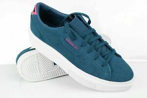 Adidas Women's Sleek Super Sneakers Size 8 Collegiate Navy/Collegiate EE7053
