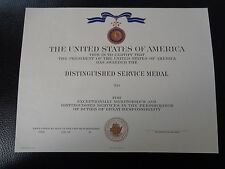 ^ (u012) ORIGINAL US Certificat de diplômes Certificate distinctif service medal Navy