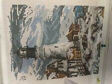 needlepoint canvas Meredith Lighthouse In The Winter