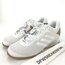 Adidas Leistung 16 II Boa Weightlifting Shoes Men's 9 White AC6977 New