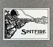 SpitFire Flame Thrower Skateboard Sticker 4.2in si