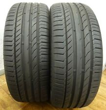 2 x CONTINENTAL 225/45 R19 92W 7,1 mm Sport Contact 5 Sommerreifen DOT1014 PAAR!