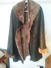 Real leather sheepskin  designer coat just stunning wilt all tags, just a real b