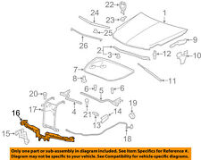 Cadillac GM OEM 06-11 DTS Hood-Latch Support 25965279