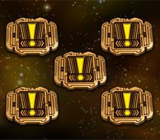 Star Wars: X-Wing Miniature Games Metal Scum Stress Tokens -- Broken Egg Games