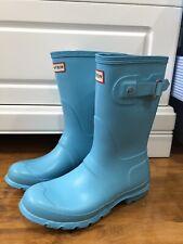 Orig HUNTER Damen Gummi Regen Match Stiefel Schuhe Boots Short Gr. 37