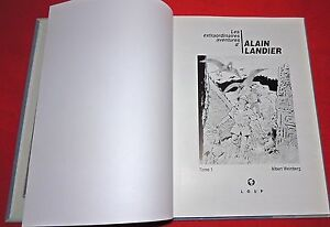 WEINBERG. extraordinaires aventures d'Alain Landier Tome 1. LOUP 2000. n°83/99
