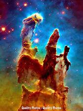 "Pillars of Creation 8.5x11"" Photo Print, Eagle Nebula, M16, Astronomy Space Art"
