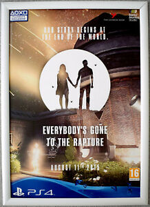 Everybody's Gone To The Rapture RARE PS4 42cm x 59cm Promotional Poster