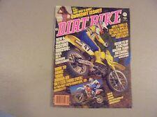 APRIL 1987 DIRT BIKE MAGAZINE,KAWASAKI KX125,SUZUKI RM80,RM250,KTM 350,AMA
