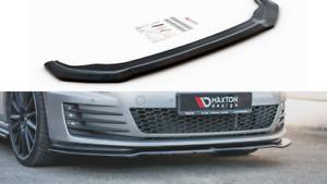 FRONT SPLITTER V.2 FOR VW GOLF MK7 GTI (2013 - 2016)