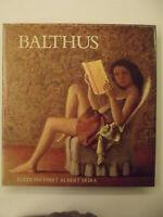 BALTHUS-A CURA DI JEAN LEYMARIE-EDITION D'ART ALBERT SKIRA 1978-CON CUSTODIA