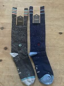 Stance Fusion Dress 645 Socks Bruce Large 2 Pairs $40.00