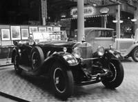 OLD PHOTO Horsepower Mercedes Benz Open Tourer At The Olympia Motor Show